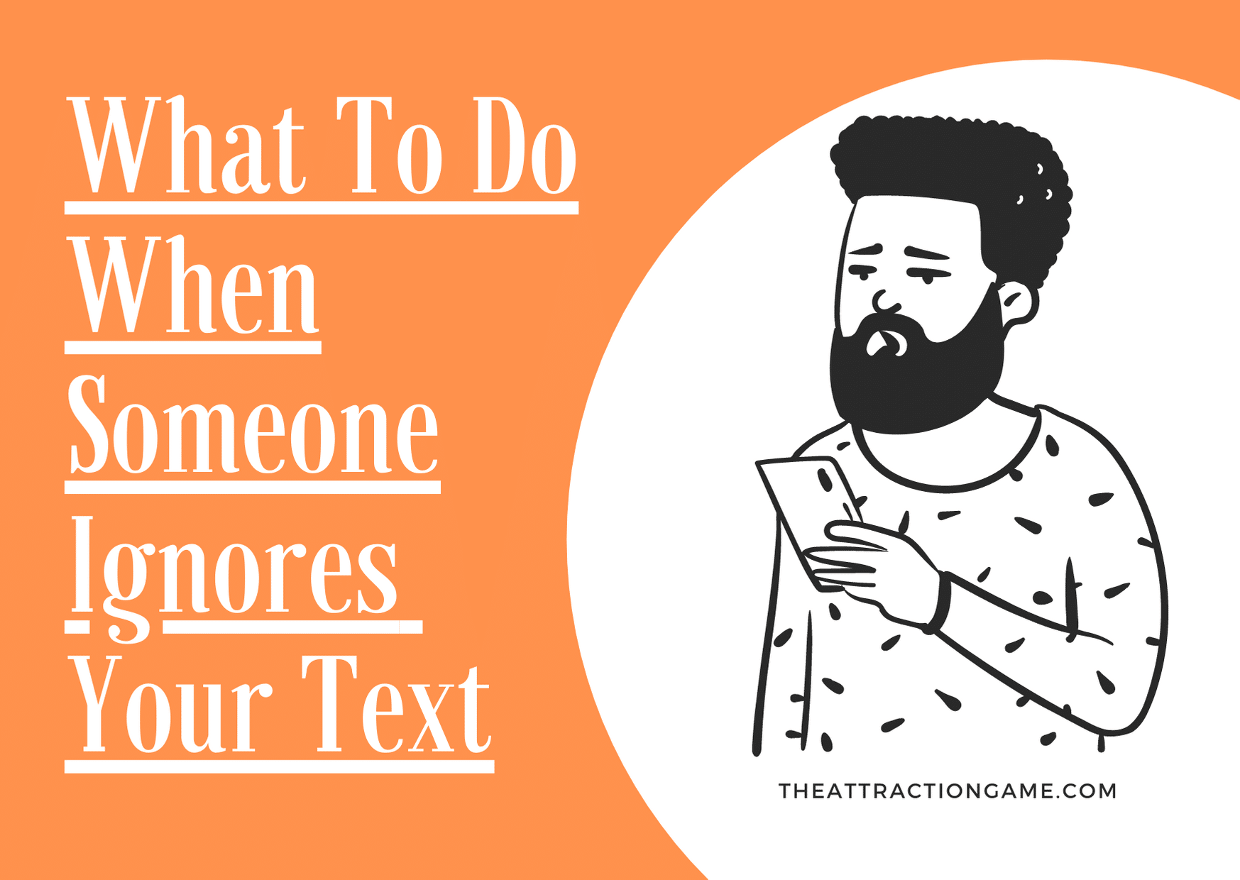 when someone ignores you, what to do when you're ignored by someone, when someone ignores your text, reasons why someone ignores your text, what to do when your text has been ignored